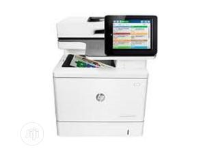 HP Color Laserjet Enterprise M577dn All-in-one Laser Printer   Printers & Scanners for sale in Lagos State, Ikeja