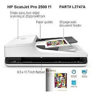 HP Scanjet PRO 2500 F1 Flatbed Scanner (L2747A) | Printers & Scanners for sale in Lagos State, Ikeja