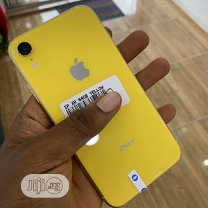 Apple iPhone XR 64 GB Yellow   Mobile Phones for sale in Abuja (FCT) State, Wuse 2