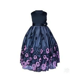 Mini World Black and Lilac Dress | Children's Clothing for sale in Lagos State, Surulere