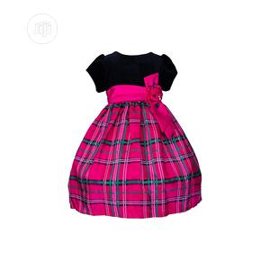 Jayne Copeland Black And Fuschia Pink Dress | Children's Clothing for sale in Lagos State, Surulere