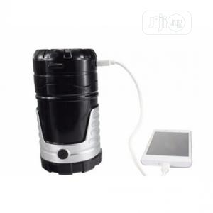 6 LED Rechargeable Solar Camping Lantern (LS0001) 02-8 | Solar Energy for sale in Lagos State, Alimosho
