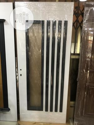 Turkish Quality Wooden With Glass Door | Doors for sale in Lagos State, Orile