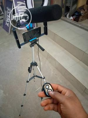 Phone Tripod With Bluetooth Remote Control   Accessories & Supplies for Electronics for sale in Lagos State, Ojo