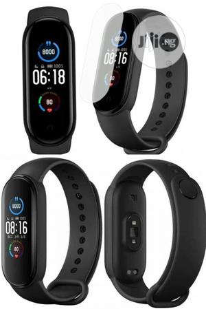 Xiaomi Mi Band 5 Fitness Tracker Waterproof Smart Watch.   Smart Watches & Trackers for sale in Lagos State, Ikeja