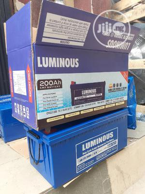 12v 200ah Luminous Battery   Solar Energy for sale in Lagos State, Ojo