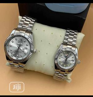 Rolex Couples Silver Wristwatch | Watches for sale in Lagos State, Surulere