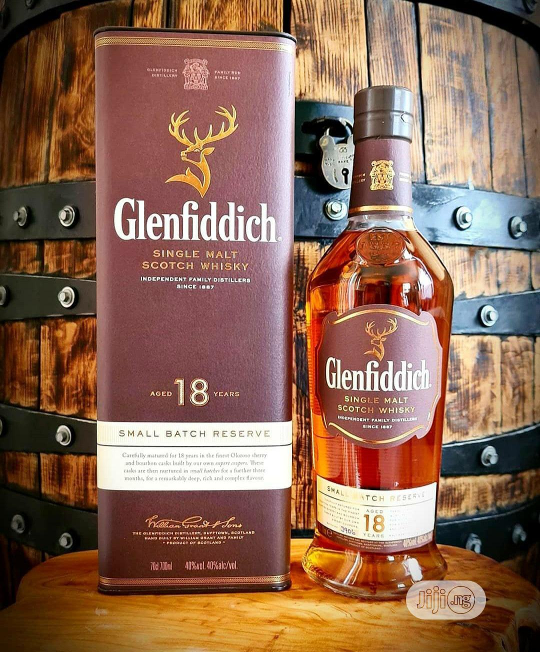 Glenfiddich 18 Years in Surulere - Meals & Drinks, Tiptop Stores   Jiji.ng