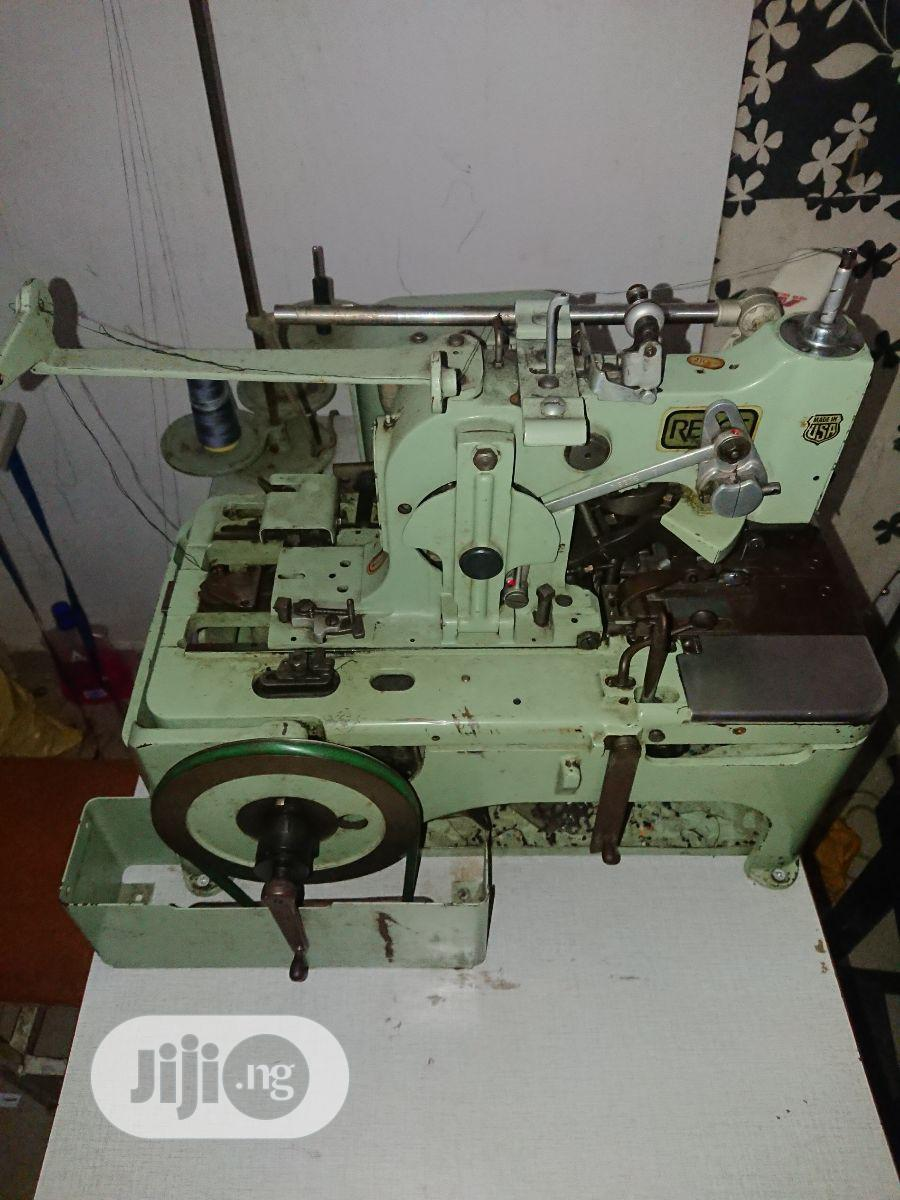Archive: RECEE Eyelet Buttonhole Sewing Machine for Suit and Trouser