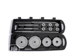 50kg Barbell Plate With Case | Sports Equipment for sale in Lagos State, Surulere