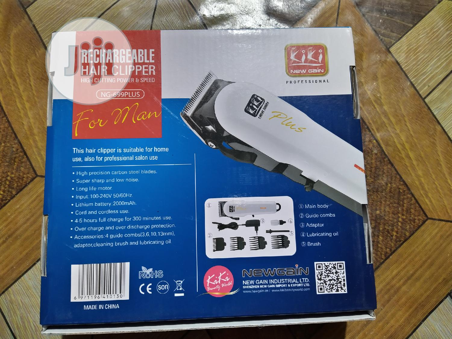 Archive: Rechargeable Clipper
