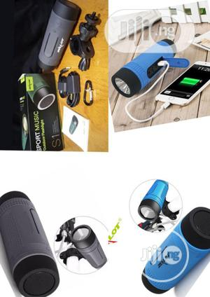 Zealot S1 Bluetooth Speaker (Power Bank, Bicycle Mount,) | Audio & Music Equipment for sale in Lagos State, Ojo
