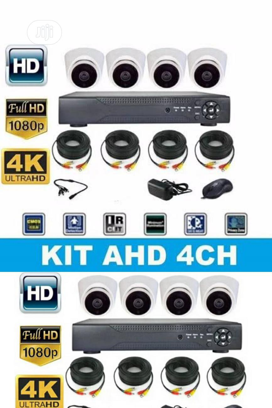4CH CCTV Combo Kits Camera With Internet Remote View