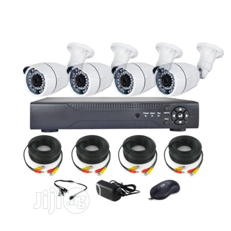 CCTV Kit - High Definition (AHD) With Remote View 4 Channels