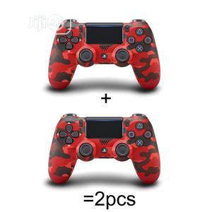 PS4 Controller With Touchpad Lightbar - Red Camo (2 | Video Game Consoles for sale in Lagos State, Ikeja