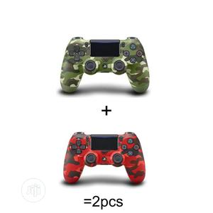 PS4 Controller With Touchpad Lightbar - Red and Gree | Video Game Consoles for sale in Lagos State, Ikeja