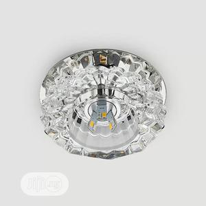 Modern Crystal Glass LED Ceiling Spot Light Corridor Pop   Home Accessories for sale in Lagos State, Ikoyi