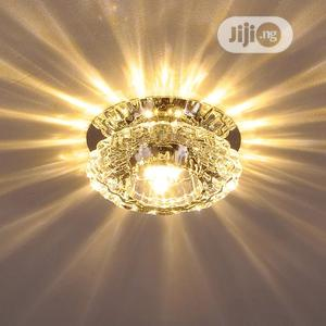 Modern Crystalglass Led Ceilin Spotlight Corridor/Parlor Pop   Home Accessories for sale in Lagos State, Yaba