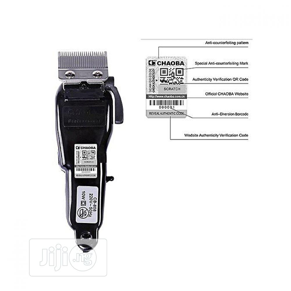 Chaoba Professional Hair Clipper 808 | Tools & Accessories for sale in Alimosho, Lagos State, Nigeria