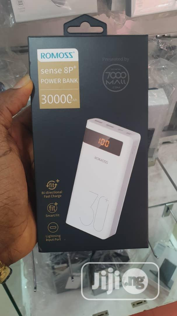 Romoss Power Bank 30000mah   Accessories for Mobile Phones & Tablets for sale in Ikeja, Lagos State, Nigeria