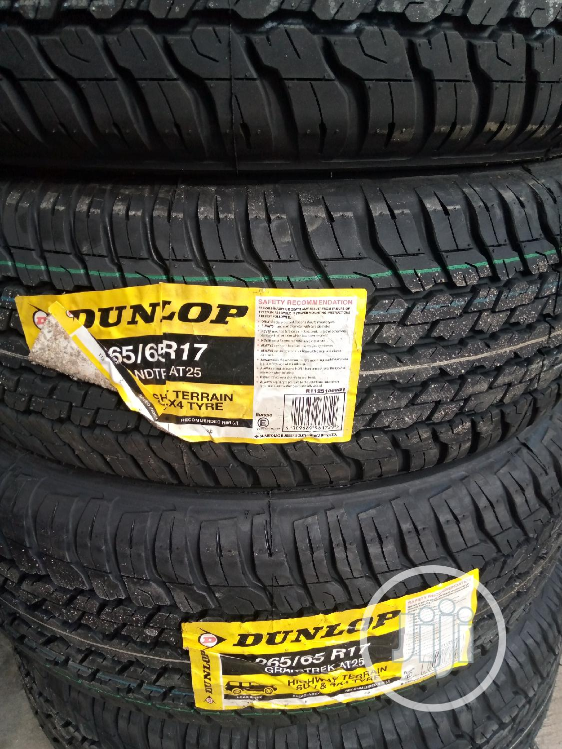 255/50/20 Dunlop Tyre for Car and Jeep Tyres