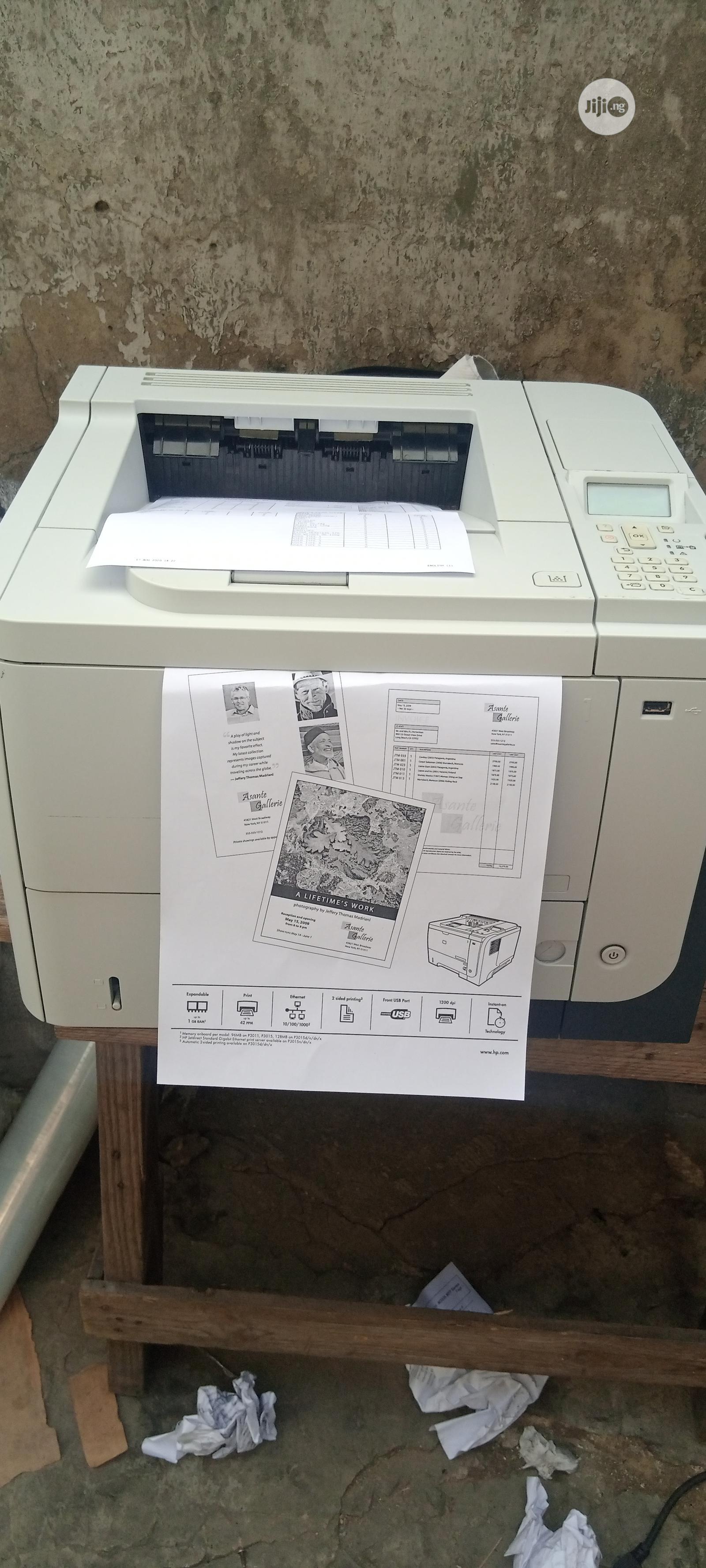 Hp Laserjet P3015 Printer Black And White