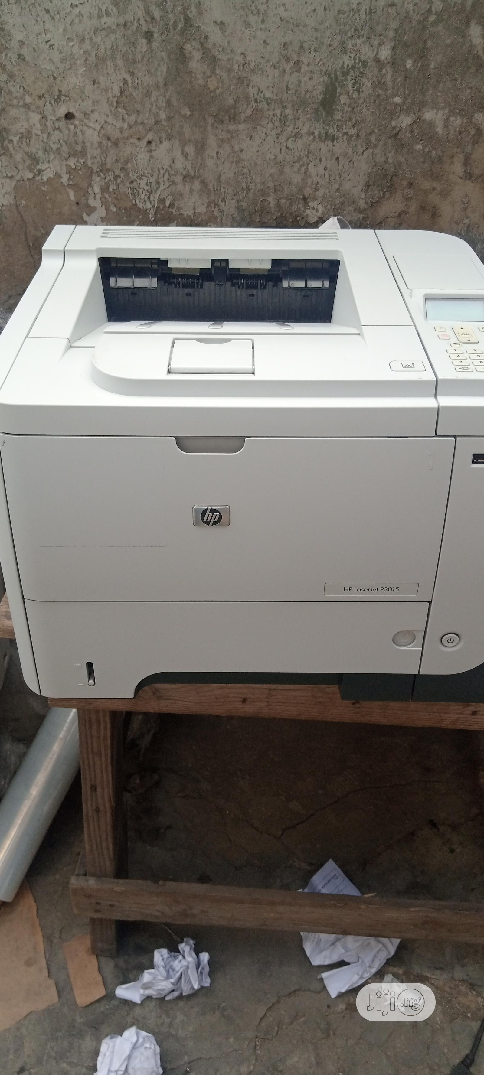 Hp Laserjet P3015 Printer Black And White | Printers & Scanners for sale in Surulere, Lagos State, Nigeria
