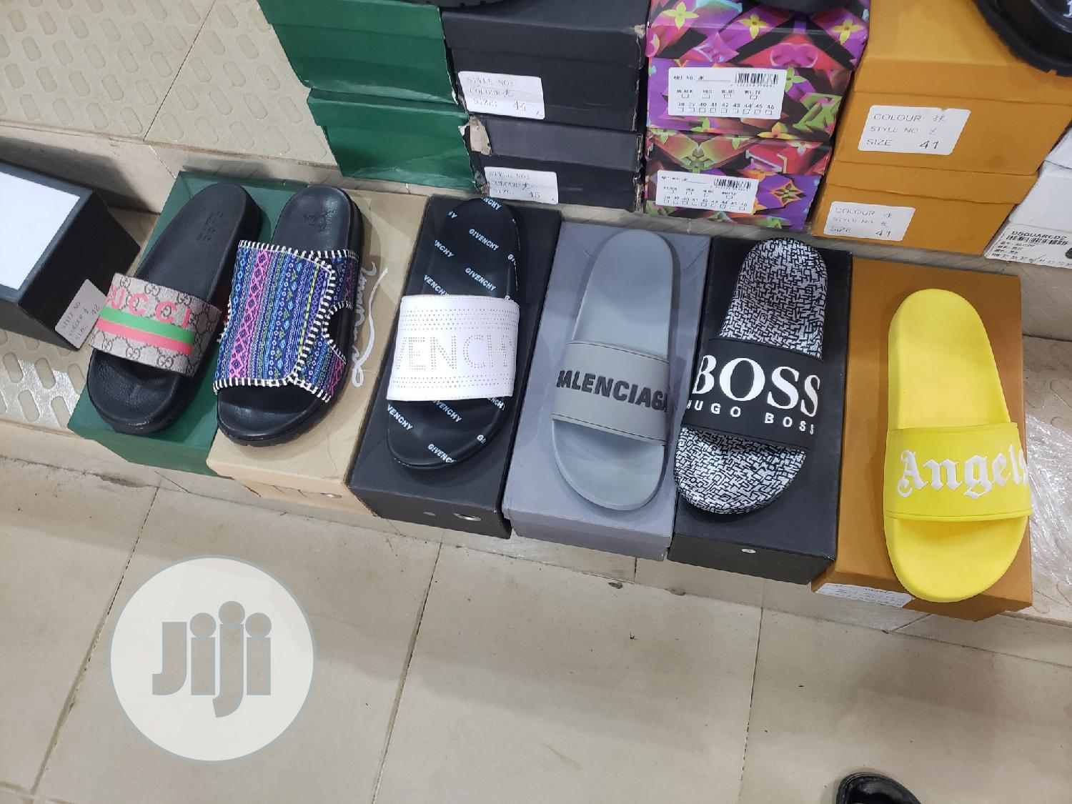Archive: Palm Angels Designers Yeezy Slippers