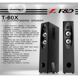 T60X F D Wireless Speaker With Remote | Audio & Music Equipment for sale in Lagos State, Ikeja