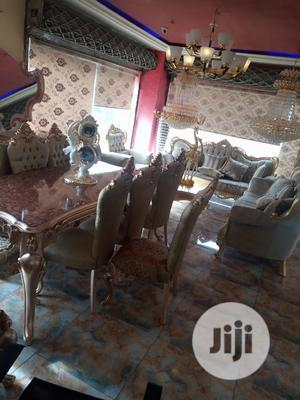 High Classic Noble Full Set of Dining Table With Sofa | Furniture for sale in Lagos State, Lekki