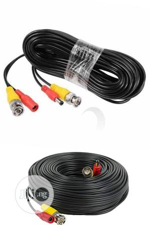 10 CCTV Power Cable. BNC Video Power Cable For CCTV   Accessories & Supplies for Electronics for sale in Lagos State, Ikeja