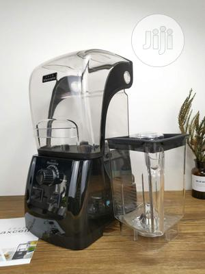 Maxcelia Sound-Proof Double Cup Blender 2L,6 Blade 2200watts   Kitchen Appliances for sale in Lagos State, Ojo