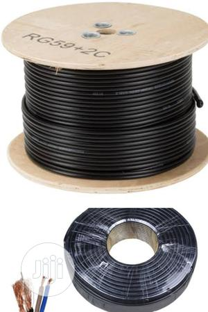 RG59 CCTV Power Cable(100m) AHD/HD CCTV Cable. Pure Copper. | Accessories & Supplies for Electronics for sale in Lagos State, Ikeja