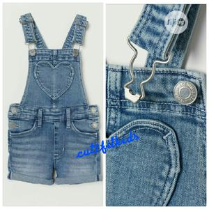 Dungarees For Girls   Children's Clothing for sale in Lagos State, Oshodi