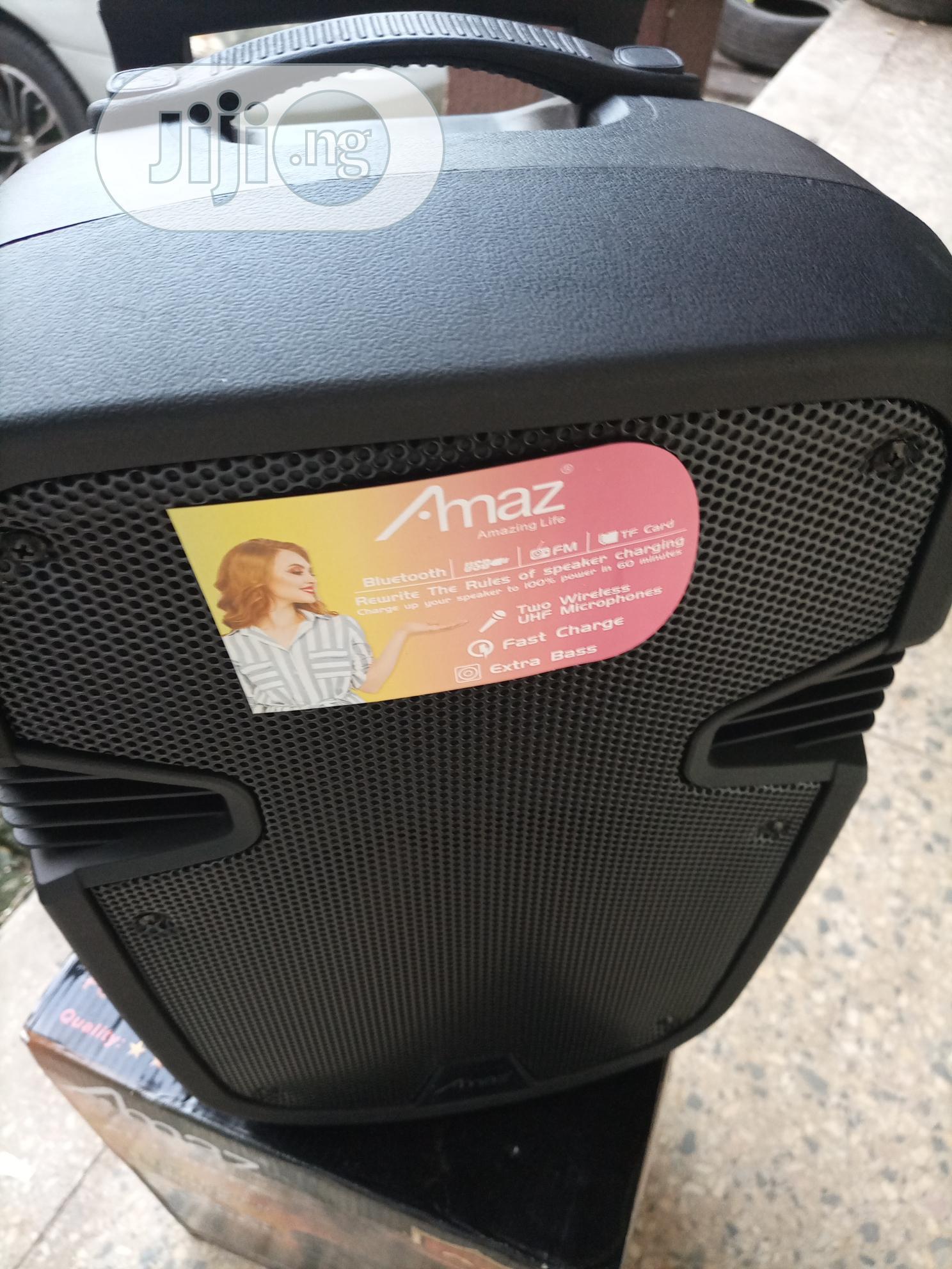 Amaz Bluetooth Speaker | Audio & Music Equipment for sale in Asokoro, Abuja (FCT) State, Nigeria