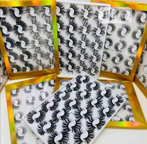 Human Hair Lashes 20pairs In 1 Set | Makeup for sale in Lagos State, Isolo