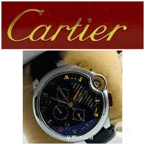 Original Cartier Leather Wristwatches   Watches for sale in Lagos State, Lagos Island (Eko)