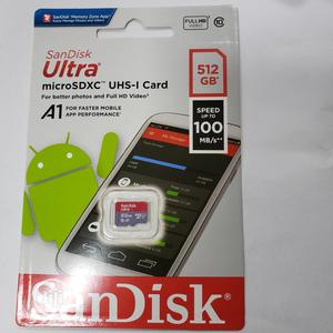 Generic Sandisk Ultra Micro SD Card 512GB TF Memory Cards | Accessories for Mobile Phones & Tablets for sale in Lagos State, Ikeja