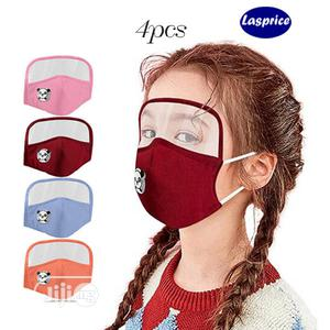 Kids Face Goggles Shield Mouth Mask Breathing Valve Children | Medical Supplies & Equipment for sale in Abuja (FCT) State, Jabi