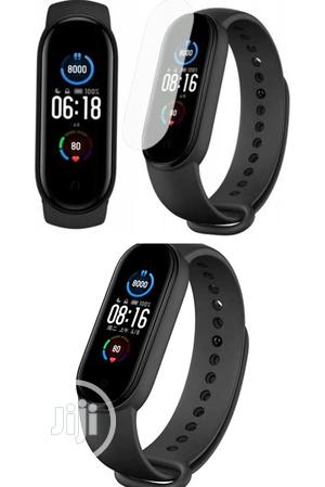 Xiaomi Mi Band 5 Fitness Tracker Smart Watch Chinese Version   Smart Watches & Trackers for sale in Lagos State, Ikeja