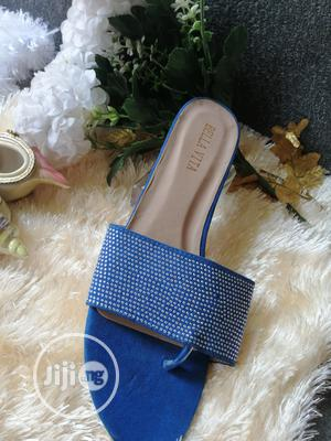 Blue Classic Slippers | Shoes for sale in Lagos State, Isolo