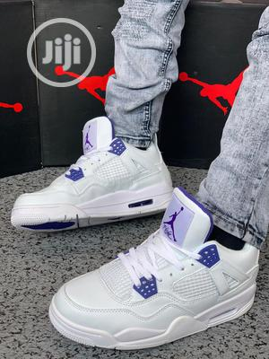 "Air Jordan 4 ""Metallic Purple"" | Shoes for sale in Lagos State, Agboyi/Ketu"