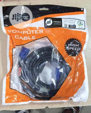 VGA 10m Cable | Accessories & Supplies for Electronics for sale in Lagos State, Ikeja