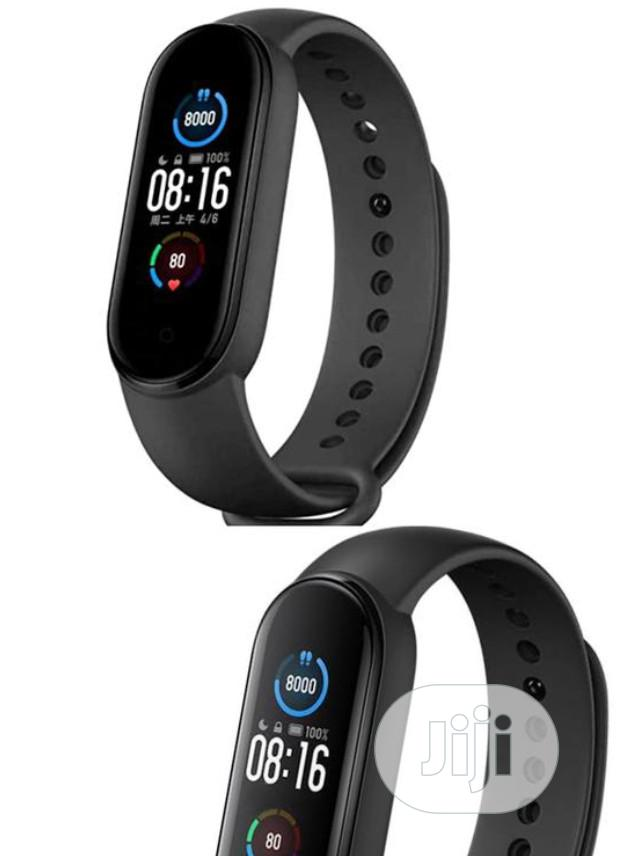 Xiaomi Mi Band 5 Fitness Tracker Waterresistance Smart Watch   Smart Watches & Trackers for sale in Ojo, Lagos State, Nigeria