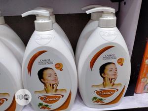 Zinnia Carrot Whitening Shower Cream | Bath & Body for sale in Lagos State, Amuwo-Odofin
