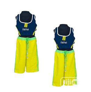 ISHZ Bra Top And Short Swim Wear | Children's Clothing for sale in Lagos State, Surulere