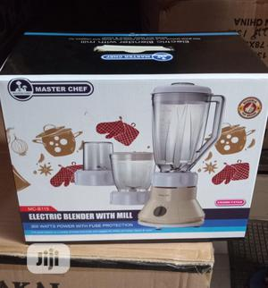 Master Chef Blender With Mill | Kitchen Appliances for sale in Lagos State, Lagos Island (Eko)