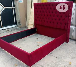 Unique 6by6ft Upholstery Bedframe | Furniture for sale in Lagos State, Ikeja