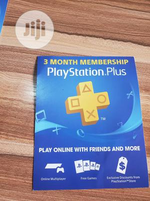3 Month Membership Playstation Plus Card PSN - USA   Video Games for sale in Lagos State, Ikeja