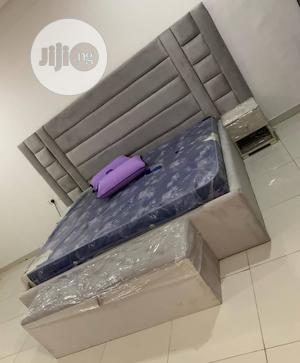 Executive 6by6ft Upholstery Bedframe | Furniture for sale in Lagos State, Ikeja